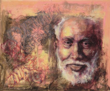 Burning Spear, portrait