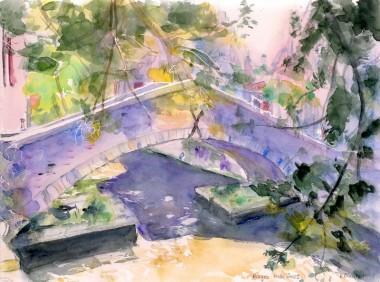 r Bruges 200905-2 Pont sur canal.JPG